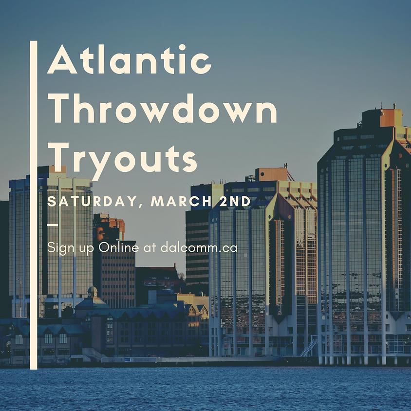 Dalhousie Atlantic Throwdown Tryouts