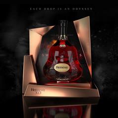Hennessy display