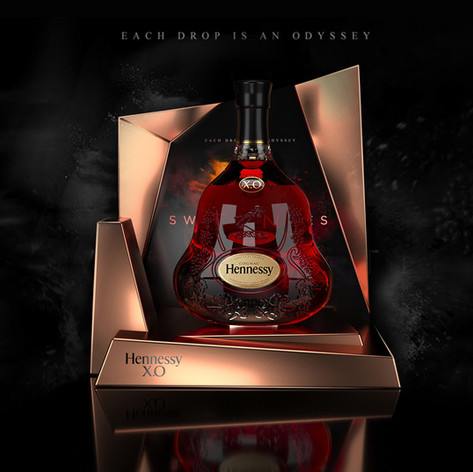 Hennessy display