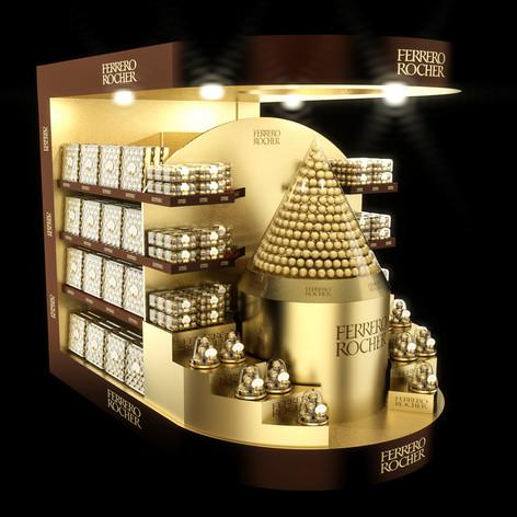 Ferrero Rocher pallet
