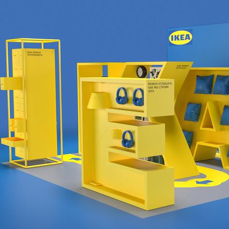 Ikea stand