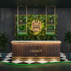 Bacardi Legacy bar