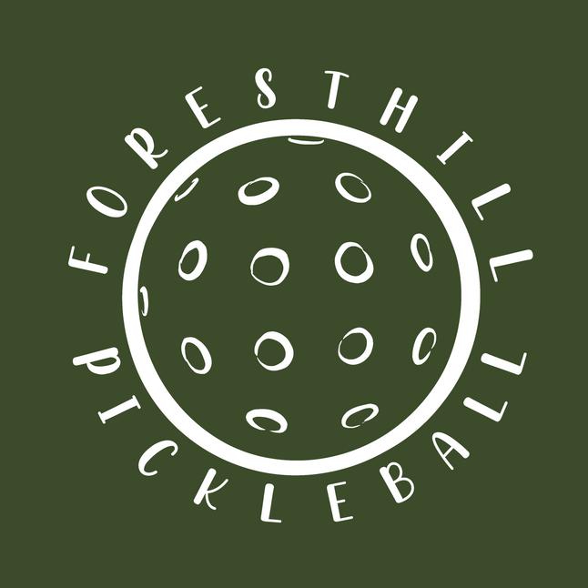 Foresthill Pickleball Logo