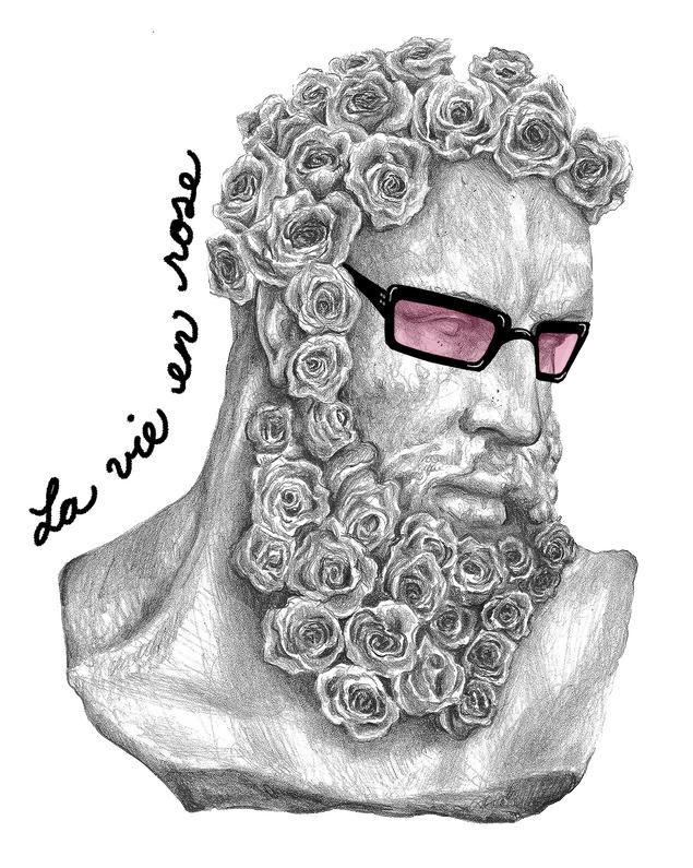 Beard boquet