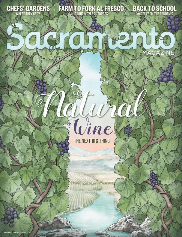 Sacramento Magazine Cover