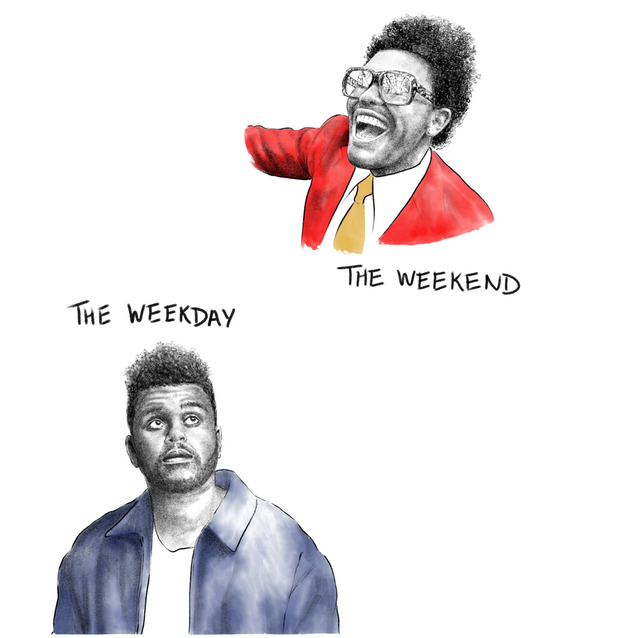 The Weekday vs. The Weeknd