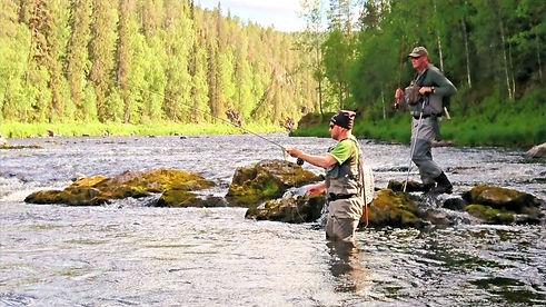Kalastusopastus Kuusinki