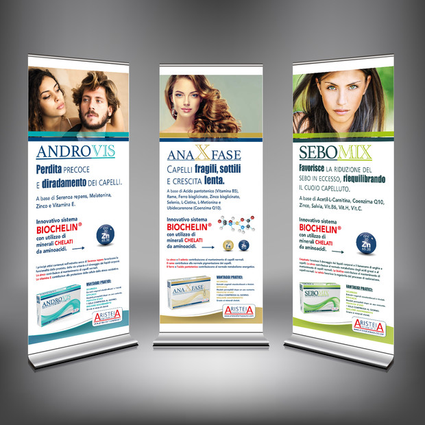Roll-up tricologici