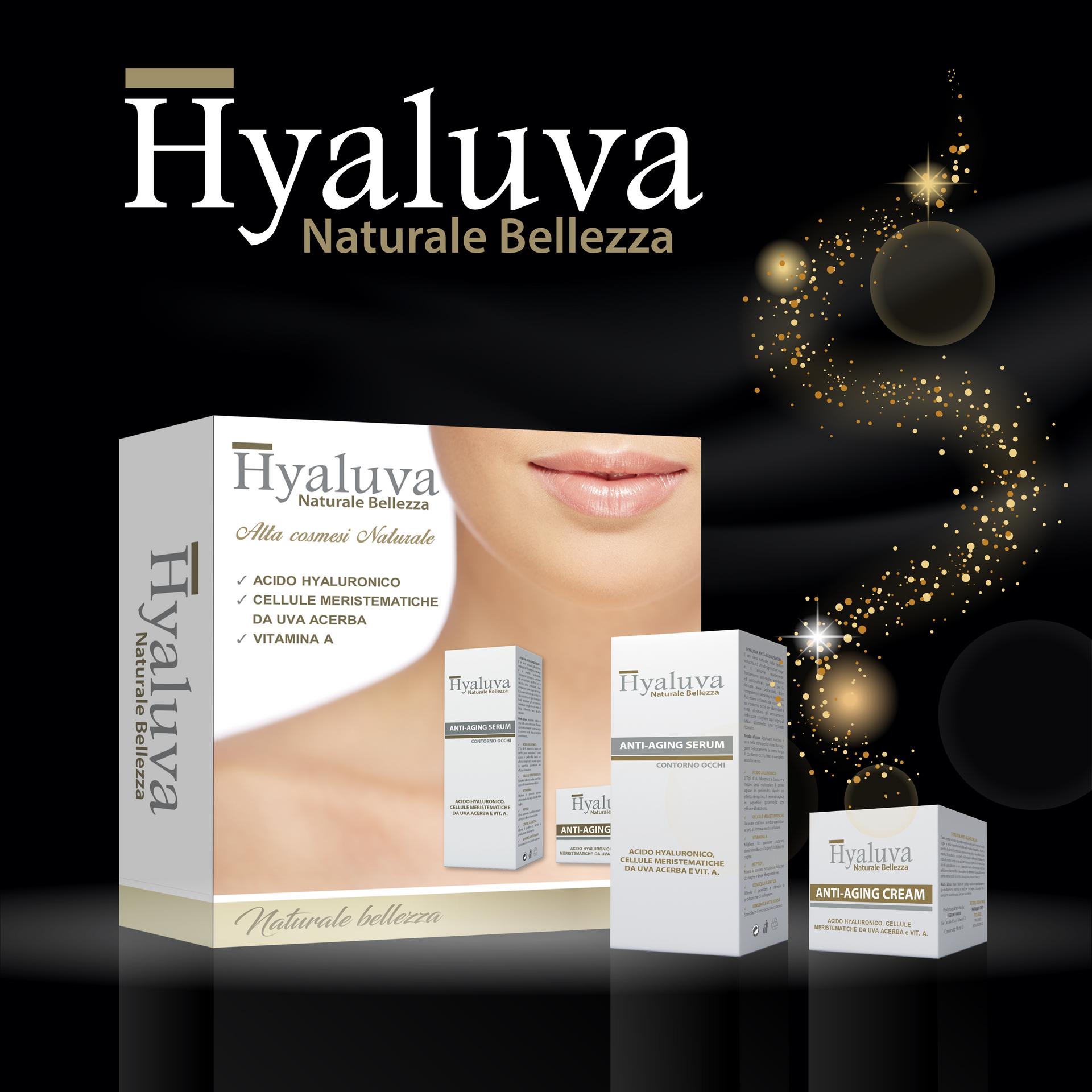 Packaging Cofanetto Hyaluva