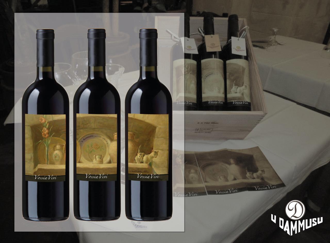 Etichetta vino Vossia