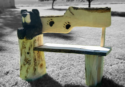 Black Bear Bench