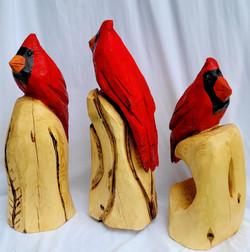 Cardinal Sculptures