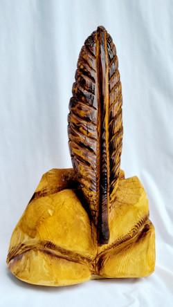 Eagle Feather Sculpture