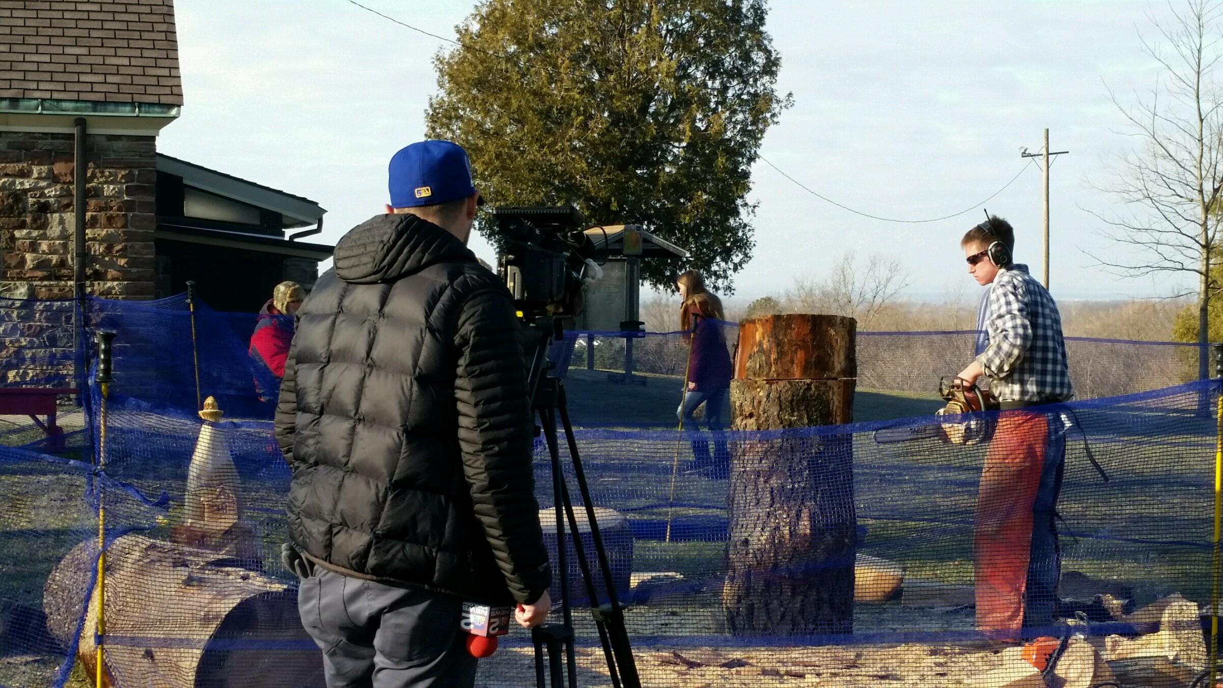News Filming