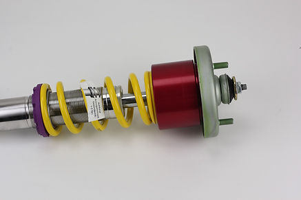 KW coilover with Ramliftpro hydraulic lift cylinder installed, adjust your ride height on the fly
