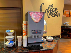 Coffee Bar at Comfort Suites near Penn State