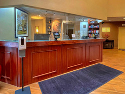 Front Desk at Comfort Suites near Penn State