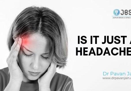 Why to see a neurosurgeon for a regular headache?