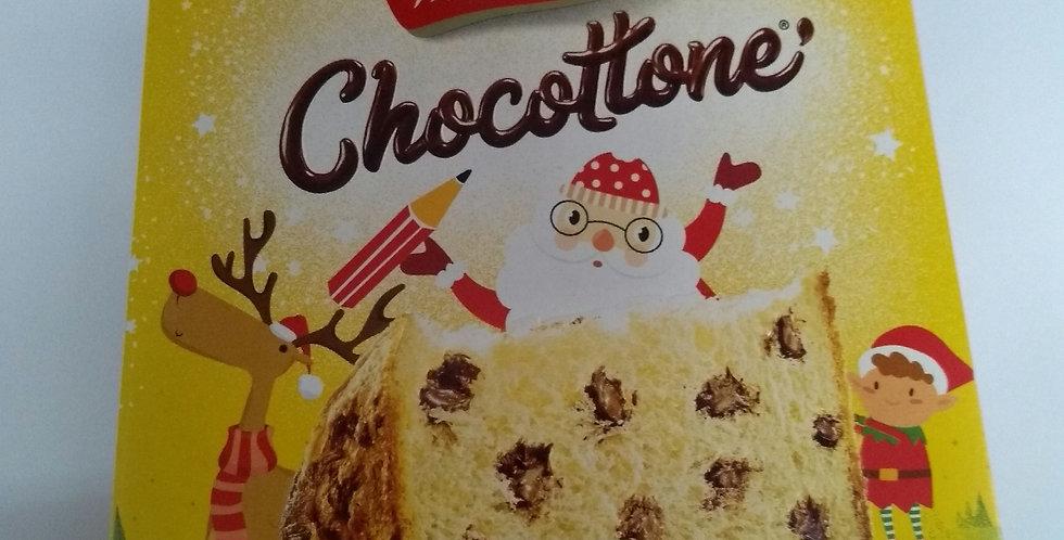 Bauducco panettone com gotas de chocolate