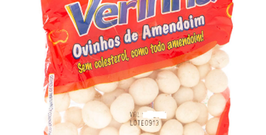 Ovinhos de Amendoim Verinha 120g