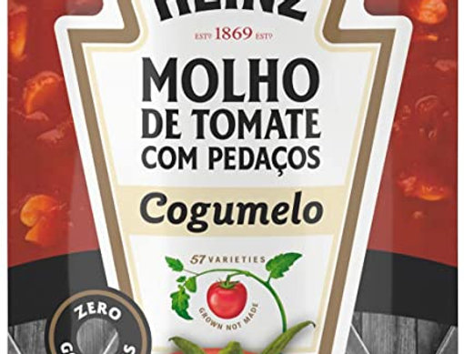 Heinz Molho de Tomate Cogumelo 340g