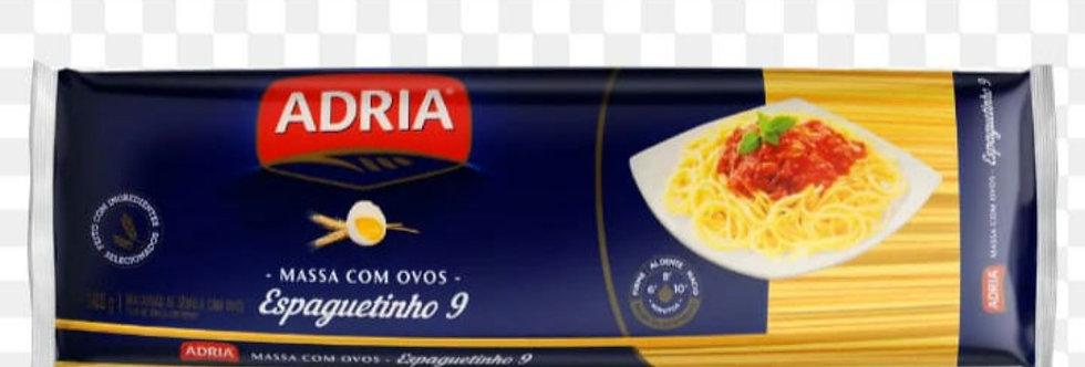 Macarrão Adria espaguetinho9.   500g
