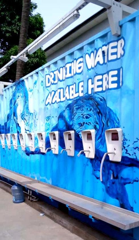 Dina Water unit in Nigeria