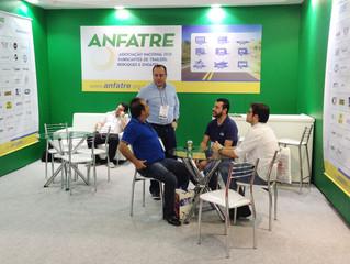 Stand da ANFATRE na FENATRAN 2015