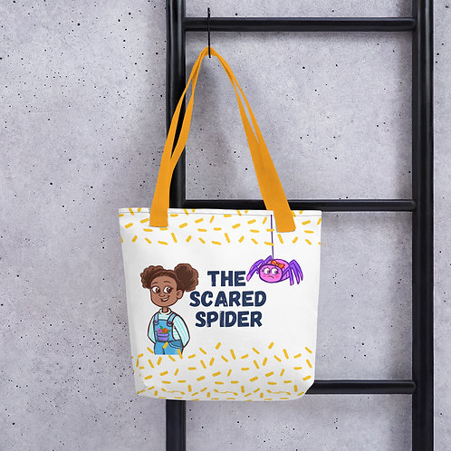 The Scared Spider Tote bag