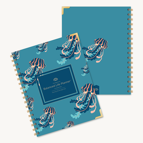 The Signature Balanced Life Planner®  Jellyfish Cover