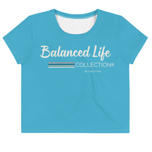 Balanced Life COLLECTION Crop Tee