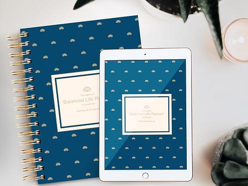 The Signature Balanced Life Planner® Golden Lotus Cover (Digital Download)