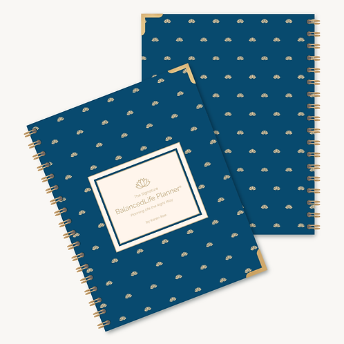 The Signature Balanced Life Planner®  Golden Lotus Cover