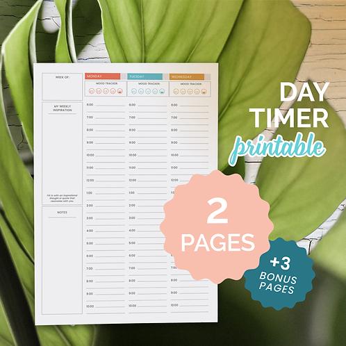 The Balanced Life Day-Timer