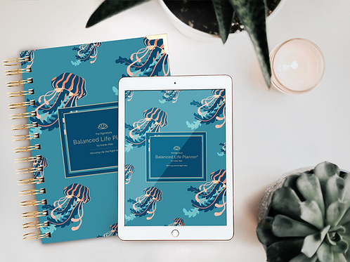 The Signature Balanced Life Planner® Jellyfish Cover (Digital Download)