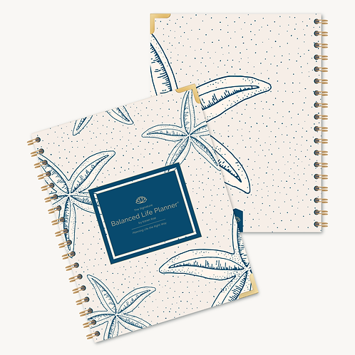 The Signature Balanced Life Planner®  Starfish Cover