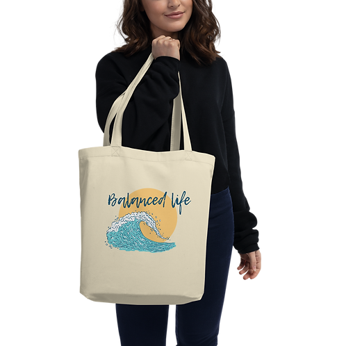 """Life's a Wave"" Eco Tote Bag"