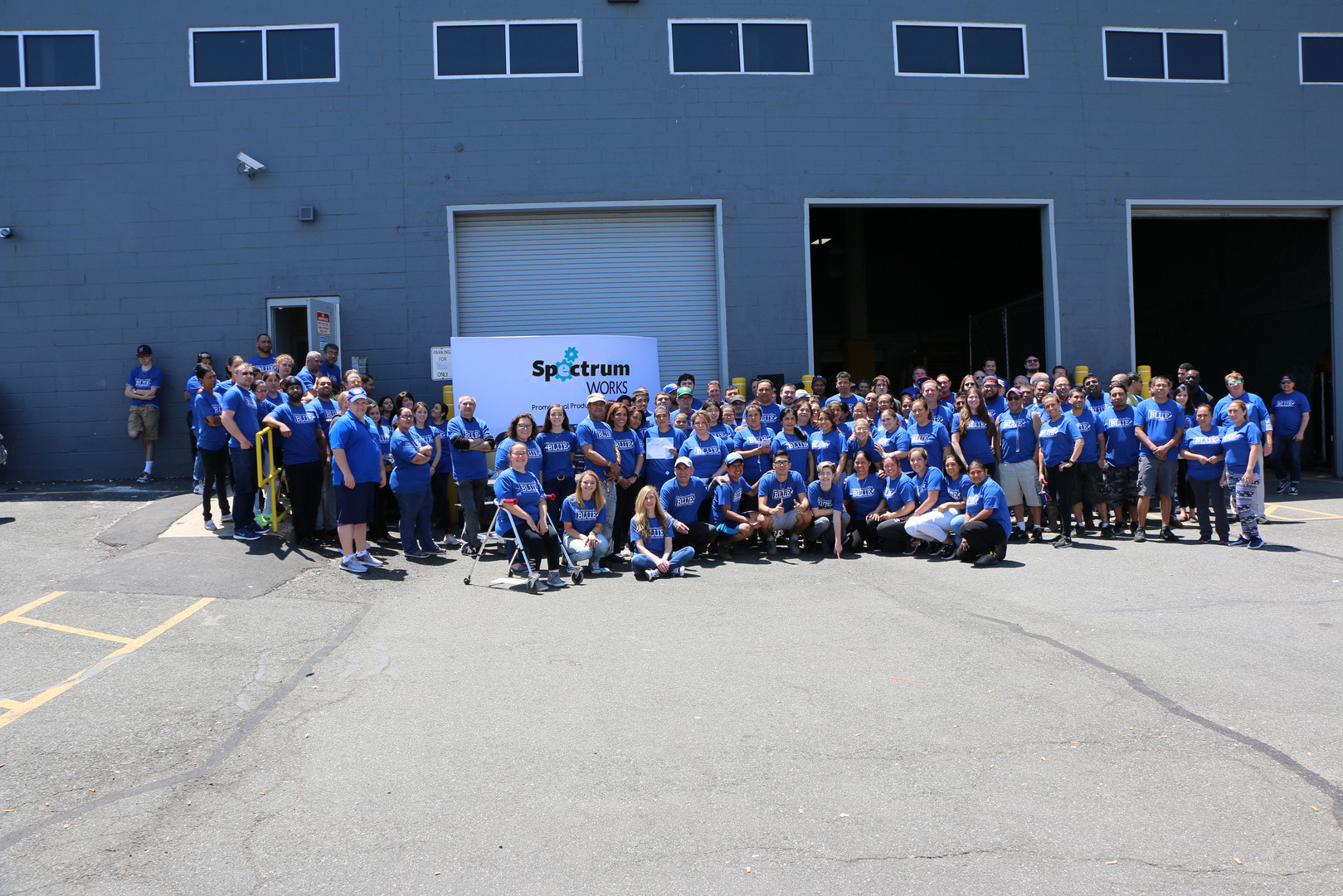 BLUE Day at Green Distribution