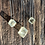 Thumbnail: Calcita Óptica Amarela corrente de prata curta