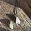 Thumbnail: Jade e Quartzo Rosa escapulário de prata oxidada