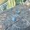 Thumbnail: Calcita Azul corrente de prata curta