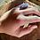 Thumbnail: Drusa de Ametista anel de prata