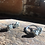 Thumbnail: Pirita Conjunto brinco e anel duplo de prata