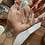 Thumbnail: Fluorita Octaedra Verde e Fluorita Octaedra Verde escapulário de prata