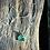 Thumbnail: Zoisita com Rubi corrente de prata curta