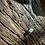 Thumbnail: Fluorita Octaedra Verde corrente de prata curta