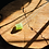 Thumbnail: Turmalina Verde corrente de prata curta