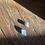 Thumbnail: Angelita e Calcita azul escapulário de prata oxidado