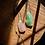 Thumbnail: Quartzo Rosa e Quartzo Verde escapulário de prata oxidada