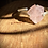 Thumbnail: Quartzo Rosa bracelete de prata